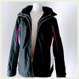 Zero exposure ski jacket 2in1